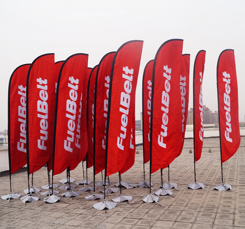 Outdoor Advertising Flag Custom Feather Flags