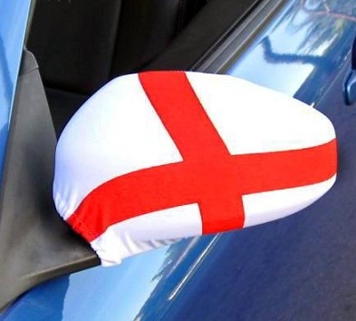 Cheap Wholesale Polyester Car Wing Mirror Flag Cover